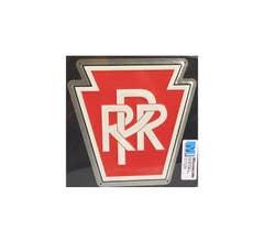 """Microscale #10001 8"""" Die-cut Metal Sign, PRR"""