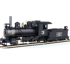 Bachmann #29403 Midwest Quarry 0-6-0 Steam Locomotive w/DCC and Sound Ready
