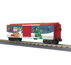MTH #30-71032 Box Car with Power Meter - North Pole