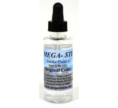 Mega-Steam Smoke Fluid Original Cedar 2oz bottle