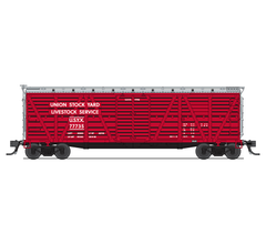 Broadway Limited #5891 Union Stock Yards Stock Car Hog Sounds