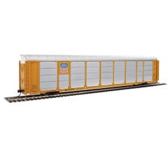 Walthers #920-101433 89' Thrall Enclosed Tri-Level Auto Carrier - Union Pacific Rack Flat SP #517371