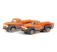Classic Metal Works #50406 1954 Ford Pickup (Gulf Oil) (2-Pack)