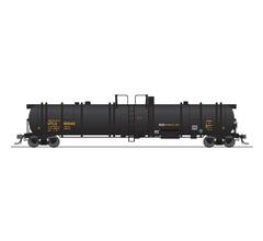 Broadway Limited #6318 Cryogenic Tank Car UTLX Black 2-pack
