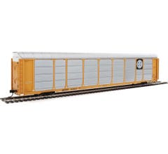 Walthers #920-101413 89' Thrall Enclosed Tri-Level Auto Carrier - Burlington Northern Santa Fe Rack and Flat #303057