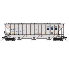 Trainworx #24424-01 PS4427 Covered Hopper - CSXT #253852