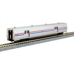 Kato #156-0956 Amtrak Viewliner II Baggage Phase III Heritage #61058