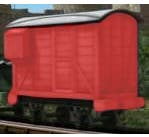 Bachmann #77207 Thomas and Friends - Red Brake Van (Caboose)