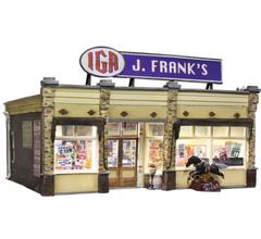 Woodland Scenics BR5050 J. Frank's Grocery