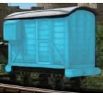 Bachmann #77206 Thomas and Friends - Blue Brake Van (Caboose)