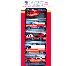 Daron #RT8750 FDNY Diecast Vehicle Gift Pack - (5pcs)