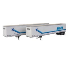Walthers #949-2465 53' Stoughton Trailer 2-Pack - Marten