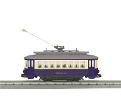 MTH #30-5186 Brooklyn Bump-n-Go Trolley - (Trainworld Exclusive)