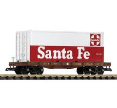 PIKO #38732 SF Flat Car w/Container Load