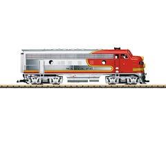 LGB #20581 Santa Fe EMD F7 A Unit Diesel Locomotive With DCC And Sound