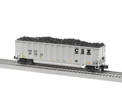 Lionel #2043230 CSX A Pack - Rotary Gondola 4-Pack