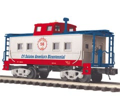 MTH #20-91666 Steel Caboose - Center Cupola Cambria and Indiana