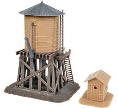 Walthers #931-906 Water Tower and Shanty- Kit - Tank & Shanty
