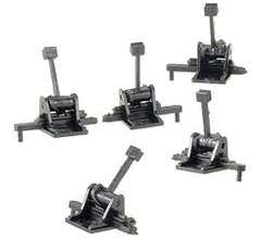 """Caboose Industries #5202S Ground Throw with .190"""" Travel (Sprung Stand)- (5 Pack 202S)"""