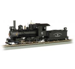 Bachmann #29402 Allegheny Iron Works 0-6-0 Steam Locomotive w/DCC and Sound Ready