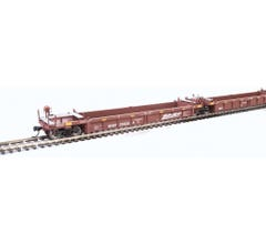 Walthers #910-55622 Thrall 5-Unit Rebuilt 40' Well Car - BNSF Railway #238228 A-E