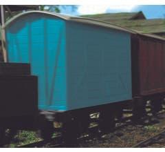 Bachmann #77208 Thomas and Friends - NARROW GAUGE Box Van- Blue