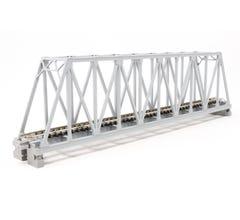 "Kato #20-432 248mm (9 3/4"") Single Track Truss Bridge, Gray"