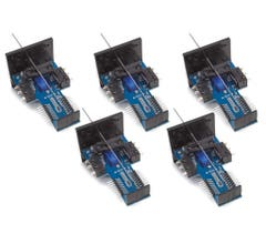 Walthers #942-501 Walthers Layout Control System - Vertical Mount Switch Machine 5-Pack