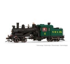 Rivarossi #HR2883S Heisler Steam Locomotive - Northern Redwood Lumber Co. #4 w/DCC sound