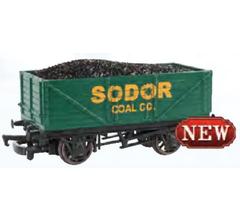 Bachmann #98026 Thomas & Friends- Sodor Coal Co. Wagon with Load
