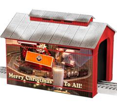 Lionel 6-83291 Christmas Half-Covered Bridge