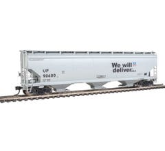 Walthers 910-7680 60' NSC 5150 3-Bay Covered Hopper - Union Pacific #90600