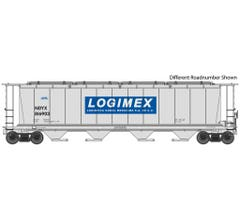 Walthers 910-7823 59' Cylindrical Hopper - Logimex NDYX #816876