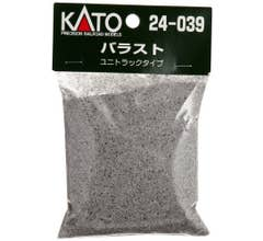Kato #24-039 Unitrack Ballast -7 oz bag colored to match Unitrack