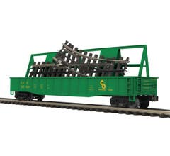 MTH #20-95137 Gondola Car w/ScaleTrax O-31 Switch - Chesapeake & Ohio