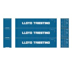 Athearn #29185 40' Corrugated Containers Lloyd #2 (3pcs)