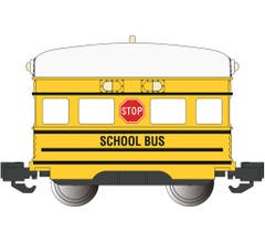 Bachmann #96288 School Bus Eggliner