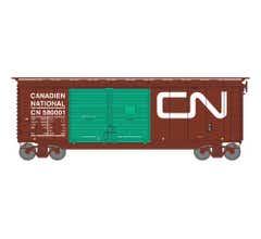 Athearn #16058 40' Double Door Box CN/Green Doors #580001
