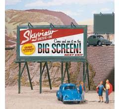 Walthers #949-4251 Cruisin Roadside Billboards (3 pcs) - Kit