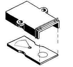 Kadee #228 Metal Draft Gear Box