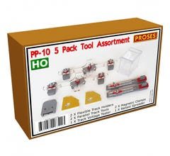 Bachmann #39029 HO Scale Track Pack Tool Assortment