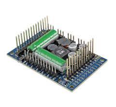 "ESU #58515 LokSound 5 XL DCC/MM/SX/M4 ""blank decoder"" Pinheader gauge G I"