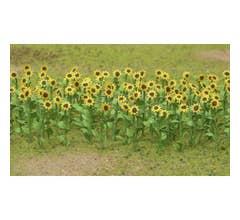 "JTT #95523 Sunflowers 1"" HO Scale (16)"