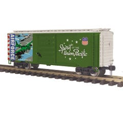 MTH 70-74105 40' Box Car - Union Pacific (Air Force - UP Spirit)