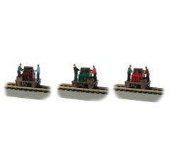 Bachmann #46223 Operating Gandy Dancer (Assorted Colors) (1pc)