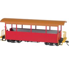 Bachmann #26002 Excursion Car Red w/Tan Roof