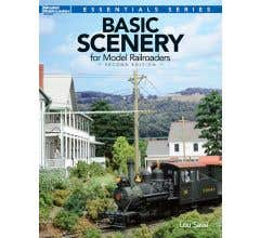 Kalmbach #12482 Basic Scenery for Model Railroaders, Second Edition