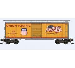 Micro Trains #02091291 Union Pacific Flag Boxcar
