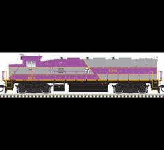 Atlas #10002741 HO Trainman NRE Genset II- MBTA #3248- (Silver Series)
