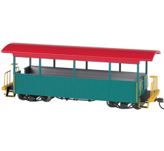 Bachmann #26001 Excursion Car Green w/Red Roof